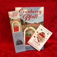 In time for holiday gifts!  Each copy of Cranberry Bluff purchased through this website will be sent out signed, and will include a matching bookmark and set of two cranberry...